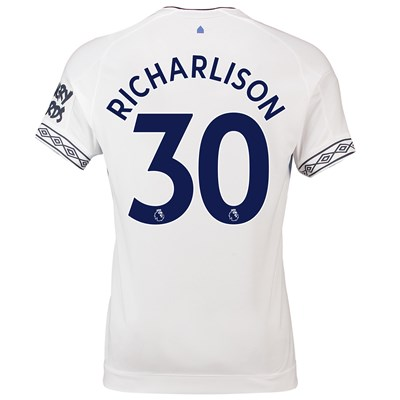 Everton Third Shirt 2018-19 with Richarlison 30 printing