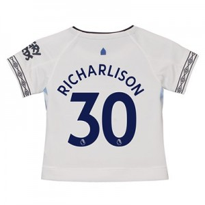 Everton Third Shirt 2018-19 - Kids with Richarlison 30 printing