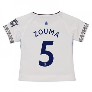 Everton Third Shirt 2018-19 - Kids with Zouma 5 printing