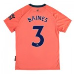 Everton Away Shirt 2019-20 - Kids with Baines 3 printing