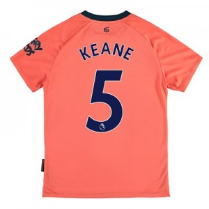Everton Away Shirt 2019-20 - Kids with Keane 5 printing
