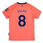 Everton Away Shirt 2019-20 - Kids with Delph 8 printing