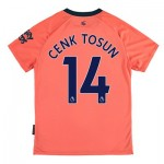 Everton Away Shirt 2019-20 - Kids with Cenk Tosun 14 printing