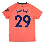 Everton Away Shirt 2019-20 - Kids with Niasse 29 printing