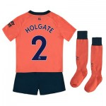 Everton Away Infant Kit 2019-20 with Holgate 2 printing