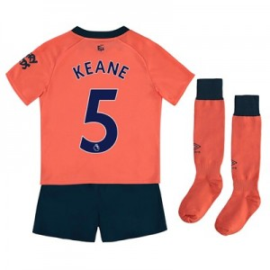 Everton Away Infant Kit 2019-20 with Keane 5 printing