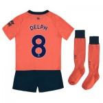 Everton Away Infant Kit 2019-20 with Delph 8 printing