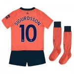 Everton Away Infant Kit 2019-20 with Sigurdsson 10 printing