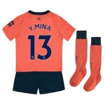 Everton Away Infant Kit 2019-20 with Y.Mina 13 printing