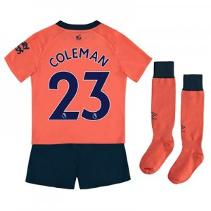 Everton Away Infant Kit 2019-20 with Coleman 23 printing