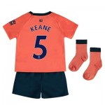 Everton Away Baby Kit 2019-20 with Keane 5 printing