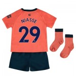 Everton Away Baby Kit 2019-20 with Niasse 29 printing