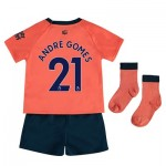 Everton Away Baby Kit 2019-20 with André Gomes 21 printing