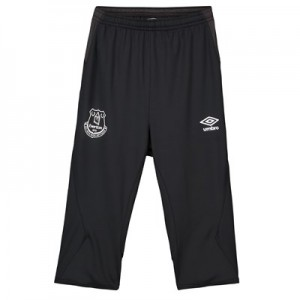 Everton Training 3/4 Knit Pants - Black - Kids