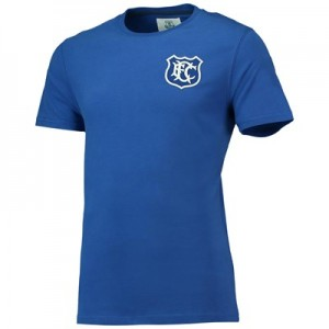 Everton Goodison 1920 Basic T-Shirt - Blue - Mens