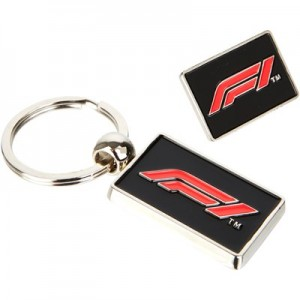 Formula 1 Badge & Keyring Set