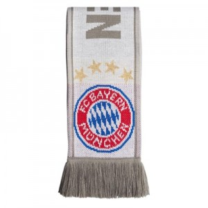 FC Bayern Fans Away Scarf - Grey