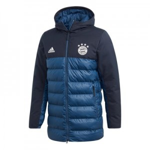 FC Bayern Seasonal Padded Jacket - Navy