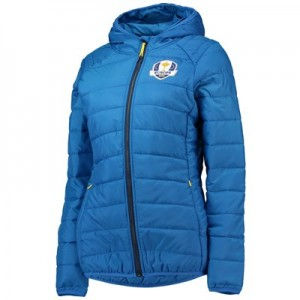 The 2018 Ryder Cup European Fanwear Padded Jacket - Womens - Royal