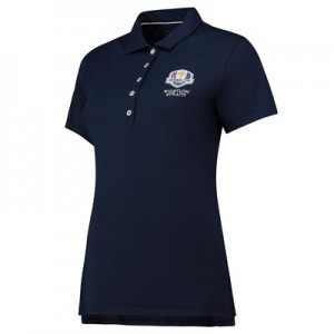 The 2020 Ryder Cup Peter Millar Perfect Fit SS Polo - Navy - Womens