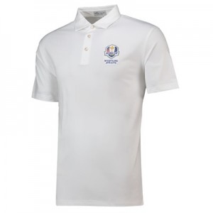 The 2020 Ryder Cup Peter Millar Solid Performance Polo - White