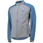 The 2020 Ryder Cup Peter Millar Zephyr Light Stretch Full Zip - Gale Grey