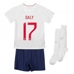 England Home Stadium Kit 2018 - Infants with Daly 17 printing