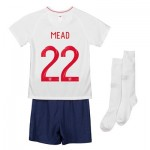 England Home Stadium Kit 2018 - Infants with Mead 22 printing
