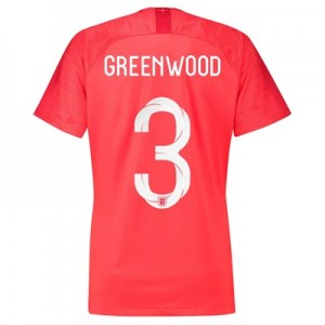 England Away Stadium Shirt 2018 - Womens with Greenwood 3 printing