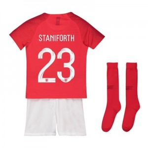 England Away Stadium Kit 2018 - Infants with Staniforth 23 printing