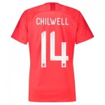 England Away Stadium Shirt 2018 - Womens with Chilwell 14 printing