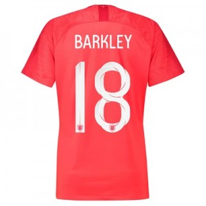 England Away Stadium Shirt 2018 - Womens with Barkley 18 printing