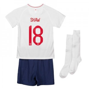 England Home Stadium Kit 2018 - Infants with Shaw 18 printing