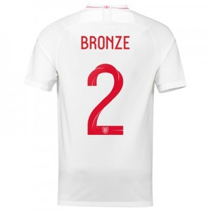 England Home Stadium Shirt 2018 with Bronze 2 printing