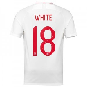 England Home Stadium Shirt 2018 with White 18 printing