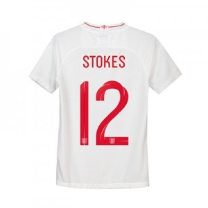 England Home Stadium Shirt 2018 - Kids with Stokes 12 printing