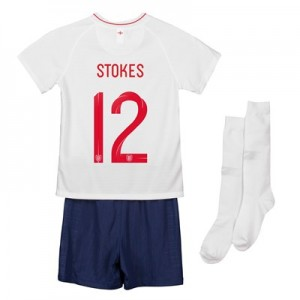England Home Stadium Kit 2018 - Infants with Stokes 12 printing