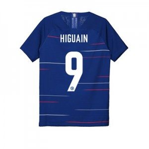 Chelsea Home Cup Vapor Match Shirt 2018-19 - Kids with Higuain 9 printing