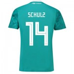 Germany Away Shirt 2018 with Schulz 14 printing
