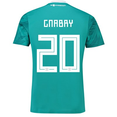 Germany Away Shirt 2018 with Gnabry 20 printing