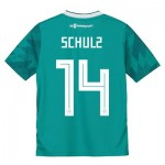 Germany Away Shirt 2018 - Kids with Schulz 14 printing