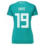 Germany Away Shirt 2018 - Womens with Sané 19 printing