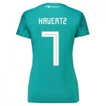 Germany Away Shirt 2018 - Womens with Havertz 7 printing