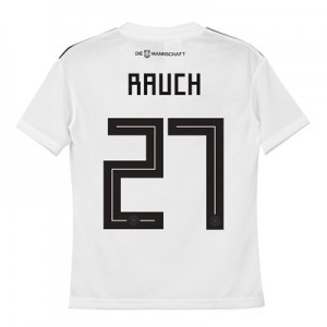 Germany Home Shirt 2018 - Kids with Rauch 27 printing