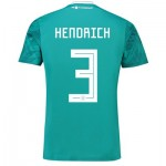 Germany Away Shirt 2018 with Hendrich 3 printing