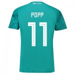 Germany Away Shirt 2018 with Popp 11 printing