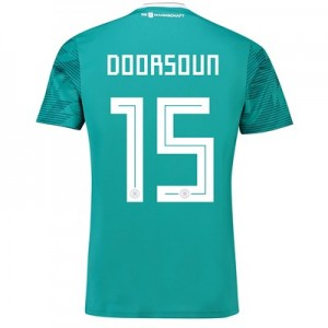 Germany Away Shirt 2018 with Doorsoun 15 printing