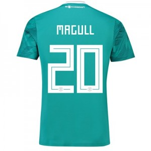Germany Away Shirt 2018 with Magull 20 printing