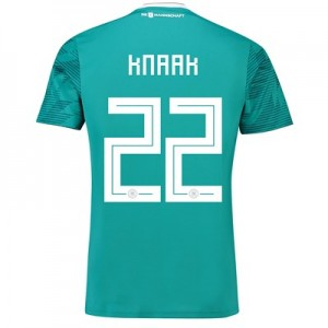 Germany Away Shirt 2018 with Knaak 22 printing