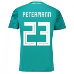 Germany Away Shirt 2018 with Petermann 23 printing